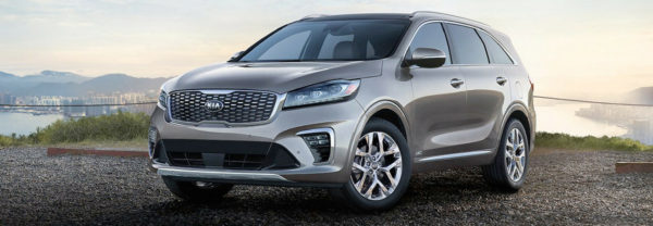 2019 Kia Sorento parked outside