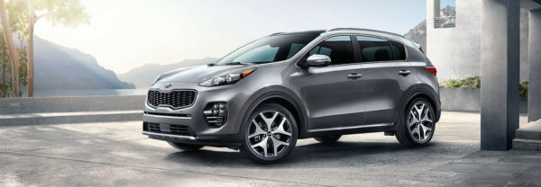2019 Kia Sportage parked in large driveway